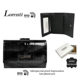 Portfel skórzany 55282-SP-RFID Black P1439