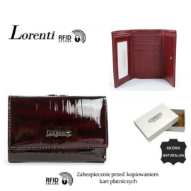 Portfel skórzany 55282-SP-RFID Red P1440