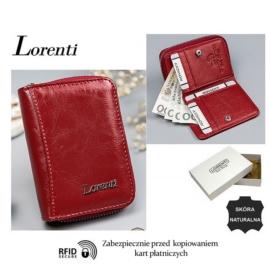Portfel skórzany 5157-BPR-RFID Red P1442