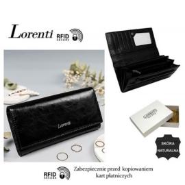 Portfel skórzany 72037-BPR-RFID Black P1444