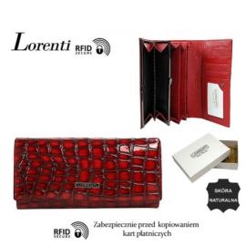 Portfel skórzany 72401-ZS-RFID Red P1445