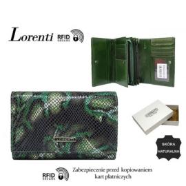 Portfel skórzany 76112-MSN-RFID Green P1450