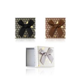 Pudełka na biżuterię 5x5cm 12szt/op OPA473