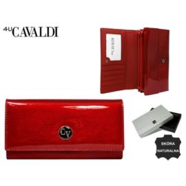 Portfel skórzany H22-1-SH Red P1460