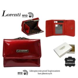 Portfel skórzany 55287-SH- RFID Red P1466