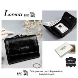 Portfel skórzany 55287-BPR- RFID Black P1468
