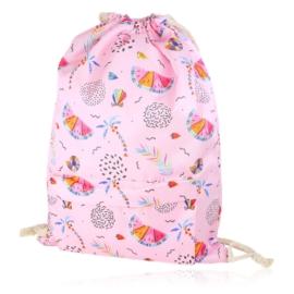 Plecak worek summer z kieszenią - PL403