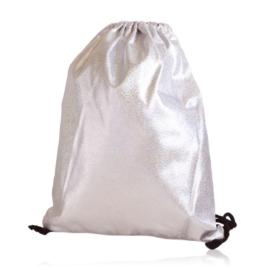 Plecak worek brokatowy pink - PL405