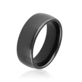 Obrączka ceramiczna czarna 0,8cm Xuping PP3199