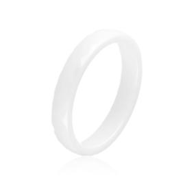Obrączka szlifowana biała 0,4cm Xuping PP3200