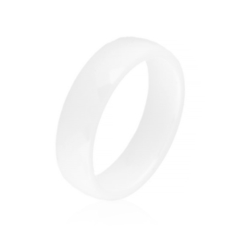 Obrączka szlifowana biała 0,6cm Xuping PP3202