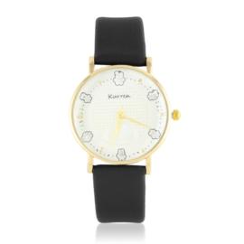 Zegarek na pasku - czarny Z2438
