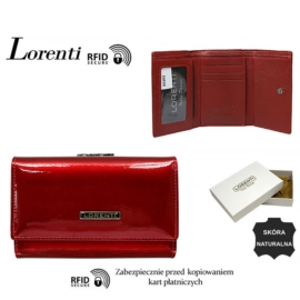 Portfel skórzany 55282-SH-RFID Red P1470