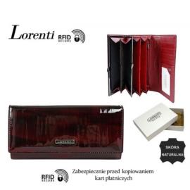Portfel skórzany 72401-SP-RFID Red P1477