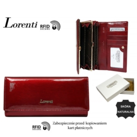 Portfel skórzany 72401-SH-RFID Red P1478