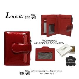 Portfel skórzany 398903-SH-RFID Red P1480