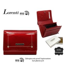 Portfel skórzany 398904-SH-RFID Red P1483