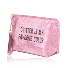 Kosmetyczka damska glitter - KOS185