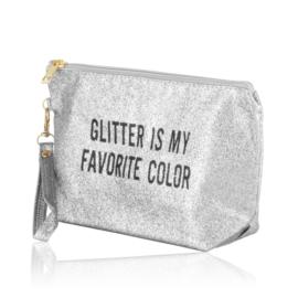 Kosmetyczka damska glitter - KOS188