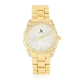 Zegarek damski na brasolecie z kryształkami Z2464