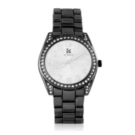 Zegarek damski na brasolecie z kryształkami Z2465