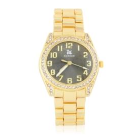 Zegarek damski na brasolecie z kryształkami Z2466