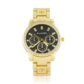 Zegarek damski na brasolecie z kryształkami Z2470