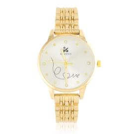 Zegarek damski na brasolecie LOVE Z2477