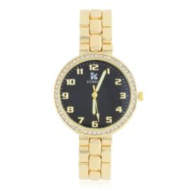 Zegarek damski na brasolecie z kryształkami Z2479