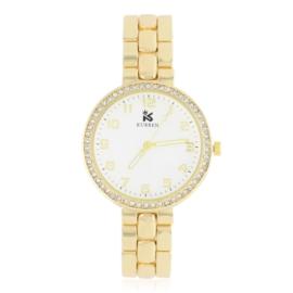 Zegarek damski na brasolecie z kryształkami Z2480
