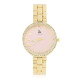 Zegarek damski na brasolecie z kryształkami Z2481