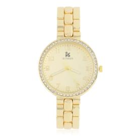Zegarek damski na brasolecie z kryształkami Z2482