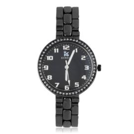 Zegarek damski na brasolecie z kryształkami Z2483