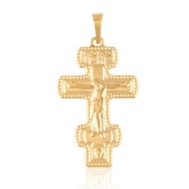 Przywieszka krzyżyk prawosławny Xuping PRZ2899
