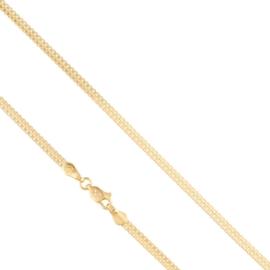 Łańcuszek kostka podwójna 50cm Xuping LAP2472