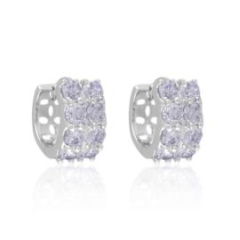 Kolczyki codzienne z kryształkami Xuping EAP17204
