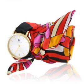 Zegarek damski na apaszce red Z2520