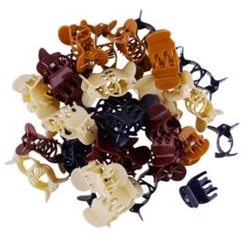 Żabki plastikowe mix 100szt ZW111