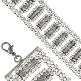 Bransoletka z kryształkami BRA3508