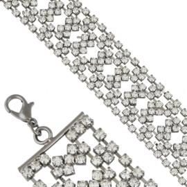 Bransoletka z kryształkami BRA3510