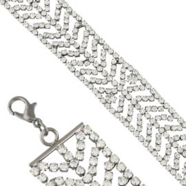 Bransoletka z kryształkami BRA3512