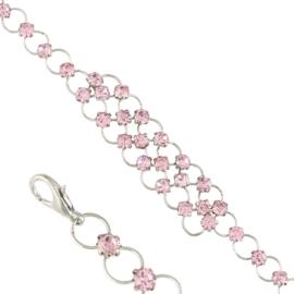 Bransoletka z kryształkami BRA3520