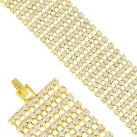 Bransoletka z kryształkami BRA3522