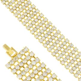 Bransoletka z kryształkami BRA3523