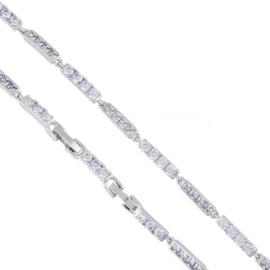 Bransoletka z kryształkami Xuping BP8624