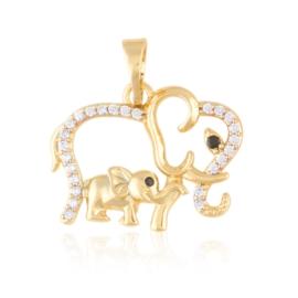 Przywieszka słonie Xuping PRZ2911