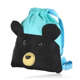 Plecak dziecięcy niebieski - miś - PL412