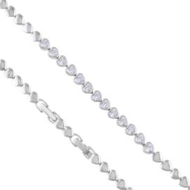 Bransoletka z kryształkami Xuping BP8638