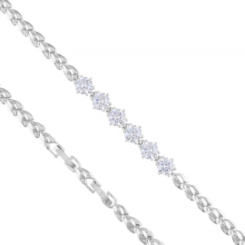 Bransoletka z kryształkami Xuping BP8639