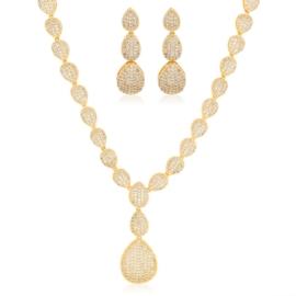 Komplet biżuterii ślubnej Xuping - SKO115